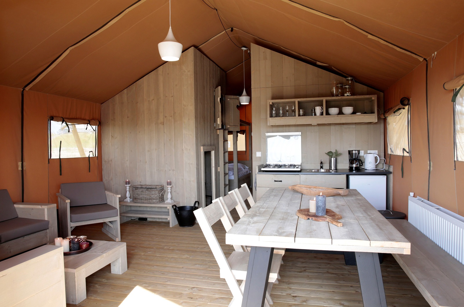 Glamping Corfwater